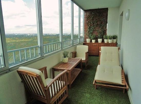 Обустройство балкона - идеи и варианты