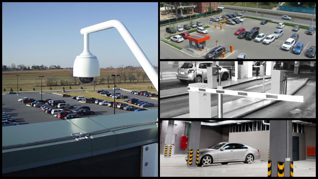 Система видеонаблюдения на автомобильных стоянках